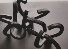 Peine del Viento's mock ups by Eduardo Chillida. #eduardochillida #chillida #peinedelviento #combofthewind #comb #wind #sea #coast #rocks #sansebastian #donostia #basque #artist #artisan #craft #craftsmanship #sculpture #drawing #mockup #prototype #minimalist #metalart #metalsculpture #designprocess #manufacturingprocess #industrialdesign #art #design Abstract Words, Corten Steel, Design Process, Metal Art, Illustration Art, Houses, Drawings, Crafts, Homes