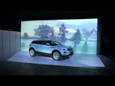 "3D mapping projection ""Range Rover Evoque - Hello Belgorod"""