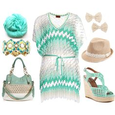 """""""lets get ready for the beach"""" by heike-muller on Polyvore"""