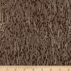 Nutmeg Wood Grain Brown from @fabricdotcom  From Dear Stella, this cotton print is perfect for quilting, apparel and home decor accents.  Colors include brown and cream.