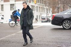 #streetstyle THE COAT | The Best Dressed Men of New York Fashion Week