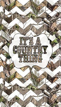 camo country girl lockscreen