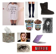"""""""I just wanna die in a hole and never come back"""" by laurynrose ❤ liked on Polyvore featuring Free People, UGG Australia, Pigeon & Poodle and Speck"""