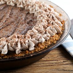 Chocolate Peanut Butter Cream Cheese Pie by EvilShenanigans, via Flickr