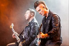 10/08/2013 HEAVY MTL 2013 (Montreal) zacky vengeance synyster gates