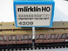 Marklin 4209 Double Compartment Passenger Cars Cab HO Scale Train Box | eBay