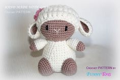 Cute sheep by Funnytoyshandmade on Etsy