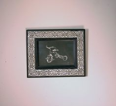 Black and white Tricycle Limited Edition Lithograph by ANKarabin, $45.00