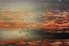 Parvez Taj Night Flight - on Canvas Art Print on Premium Canvas