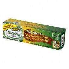 BioBag 3 Gallon Compost/Waste Bags - 25 Count Biodegradable eco friendly plastic bags