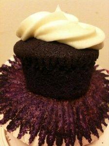 White Chocolate & Ube Cupcakes