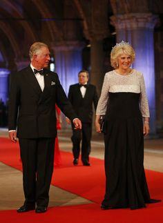Dutch inauguration: Fashion from the state dinner - Charles and Camilla