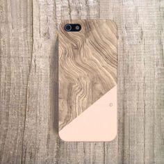 Unique iphone 4 case wood print case wood by casesbycsera. Custom Iphone Cases, Unique Iphone Cases, Iphone 5c Cases, Iphone 4s, Pink Iphone, Smartphone Covers, Sparkle, Bling, Coque Iphone