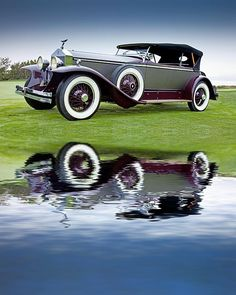 Photograph 1929 Rolls-Royce Phantom I Brewster Ascot Tourer by Bob Jensen Classic Trucks, Classic Cars, Vintage Cars, Antique Cars, Hot Rods, Donk Cars, Rolls Royce Motor Cars, Rolls Royce Phantom, Classic Motors