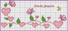 Kawaii Cross Stitch, Tiny Cross Stitch, Butterfly Cross Stitch, Cross Stitch Heart, Cross Stitch Designs, Cross Stitch Patterns, Cross Stitch Boarders, Cross Stitch Fabric, Cross Stitching