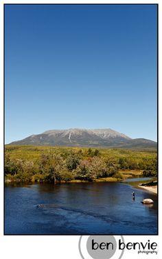 Mt. Katahdin, Maine.  I climbed this as a teenager.