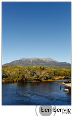 Mt. Katahdin, Maine.