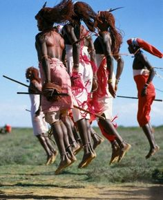 Masai Warrior Dancers, Africa