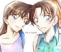 Ran & Kazuha Detective conan