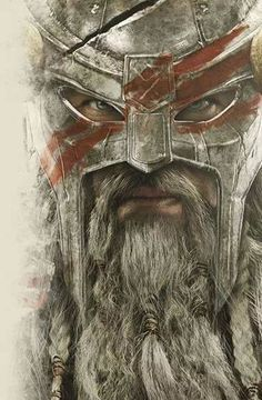 Blue eyed Viking