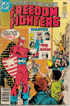 Freedom Fighters #9
