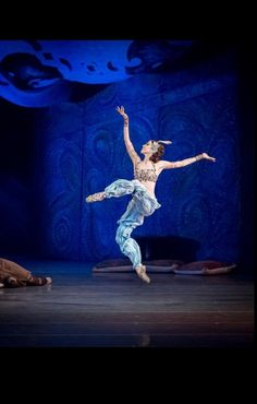 ".Viktoria Tereshkina as ""Zobeide"" and Danila Korsuntsev as ""Zobeide's Slave"", ""Scheherazade"", ""An Artistic Evening with Viktoria Tereshkina"", Mariinsky Ballet (March 19, 2015)"