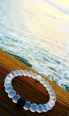 Such a cool message behind these bracelets. Injected in the black bead is mud from the Dead Sea. In the white beads are water from the top of Mount Everest. The highest and lowest points on earth. So whether you're feeling on top of the world or down on your luck, these Lokai bracelets remind you to stay humble, hopeful and to keep moving forward. You can have to find your balance in life. 10% of all profits go to charity.