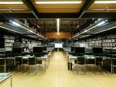 Studycentre van Het Nieuwe Instituut