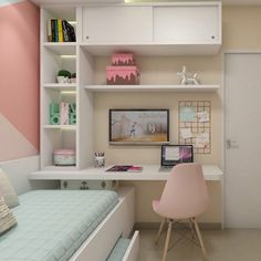 Bedroom Decor For Couples, Room Ideas Bedroom, Small Room Bedroom, Bedroom Layouts, Home Decor Bedroom, Master Bedroom, Bedroom Beach, White Desk Bedroom, Master Suite