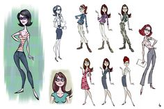 Living Lines Library: Megamind (2010) - Concept Art, Other Characters