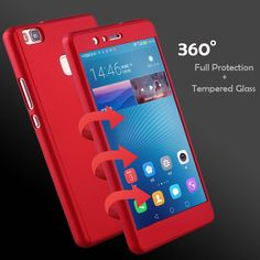 Cheap cover for huawei, Buy Quality case cover directly from China protective case Suppliers: Hard PC 360 Front Back Full Body Protect Case Cover For Huawei P9 Lite 2016 Phone Cases For Huawei P 9 Lite 2017 Tempered Glass