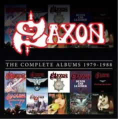 Saxon-The Complete Albums 1979-1988  CD / Box Set NEW
