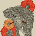 Barkysimeto Art Print by Valentina | Society6 - i love this artist