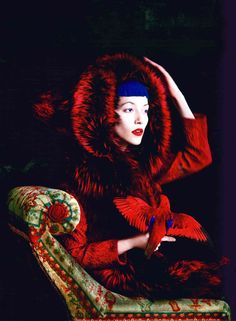 Do you need fashion tips and inspiration? Read Discover, the new Dolce & Gabbana Luxury Magazine Online. Fairytale Fashion, Color Of Life, Red Riding Hood, Lady In Red, Kitsch, Editorial Fashion, Fairy Tales, Fashion Photography, Color Photography