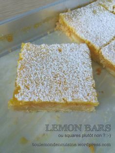 lemon bars ultra faciles #lemonbars #baking #easycook