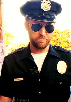 Charles Kelley (from Lady Antebellum) in cop uniform - facial hair Cop Uniform, Men In Uniform, Charles Kelley, Silicone Masks, Male Makeup, Lady Antebellum, Man Photo, Masking, Male Face