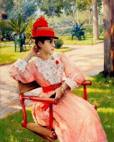 View Afternoon in the park by William Merritt Chase on artnet. Browse upcoming and past auction lots by William Merritt Chase. World Famous Paintings, Famous Artists, Art Nouveau, American Impressionism, Brooklyn Museum Of Art, Art Courses, Oil Painting Reproductions, Victorian Art, French Artists