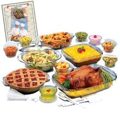 Anchor Hocking 34 Piece Expressions Ovenware Set Was $129.99, Now $52.99 with FREE Shipping
