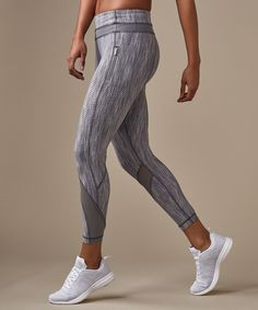 Shop the Inspire Tight II *Online Only Grey Sports Leggings, Girls In Leggings, Leggings Are Not Pants, Gym Style, Fitness Style, Basic Yoga, Workout Wear, Workout Outfits, Yoga Routine