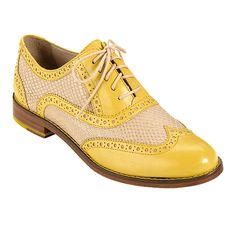 Skylar Oxford : Cole Haan     So maybe I'd have few places to wear these, but they're still fab and I want them. Love a wingtip.