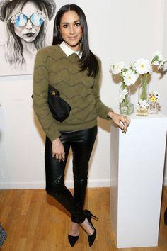 Meghan Markle Marc Jacobs Daisy Chain Tweet Pop Up Shop Party