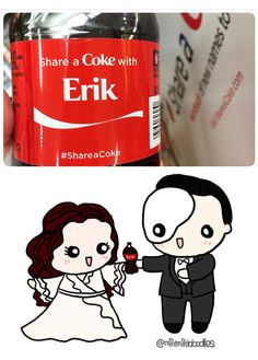 I will share a Coke with Erik any day! Theatre Geek, Broadway Theatre, Musical Theatre, Theater, Fantom Of The Opera, It's Over Now, Opera Ghost, Charles Dance, Share A Coke