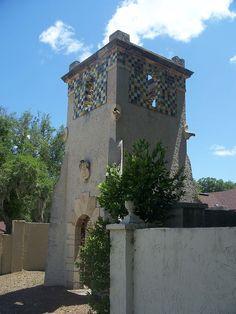 San Jose Estates Gatehouse in Duval County, Florida.