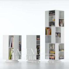 法瑟米书柜 现代简约书柜 创意旋转书柜 书架 恰恰-淘宝网