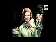 SYND 14 8 74 BETTY FORD TOURS WHITE HOUSE - YouTube Betty Ford, Acting, Tours, Youtube, Youtubers, Youtube Movies