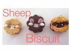 ▶ Kawaii Sheep Cookie: Polymer Clay Charm Tutorial - YouTube