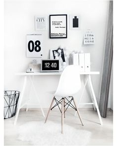 Browse pictures of home office design. Here are our favorite home office ideas that let you work from home. Office Inspiration, Decoration Inspiration, Interior Inspiration, Office Ideas, Decor Ideas, Bedroom Inspiration, Home Office Design, Home Office Decor, Home Design