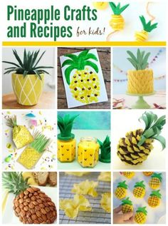Easy DIY Pineapple Candles - Ever wondered how to make candles? These Easy DI. Summer Diy, Summer Crafts, Family Crafts, Crafts For Kids, Pineapple Gifts, Pineapple Craft, Pineapple Decorations, Pineapple Recipes, Luau
