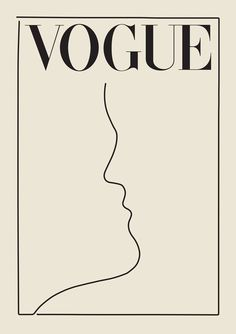 Vogue Poster Vogue Print Wall Art Gift For her Fashion Wall Art Vintage Poster Mode Collage, Aesthetic Collage, Aesthetic Drawing, Aesthetic Painting, Aesthetic Black, Korean Aesthetic, Aesthetic Vintage, Aesthetic Outfit, Aesthetic Clothes