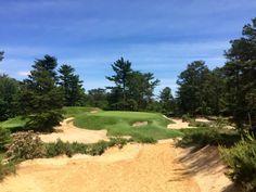 The par 3, 10th hole at Pine Valley Golf Club
